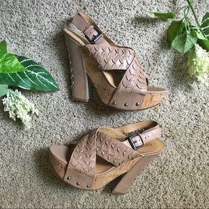 Guess Platform Summer Heels